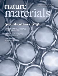 nature materials cover